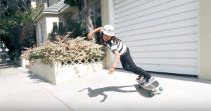"""【陸上イメトレ】前足でのコントロール性を高め、よりキレのある動きを実現したCarver skateboards注目の""""30.25"""" Firefly""""モデルに迫る!!"""