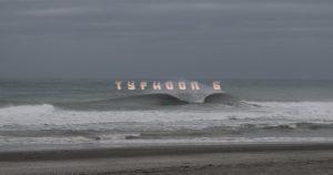 【台風6号】崩れの温帯低気圧によるチュービーなウエスト・ピア・セッション