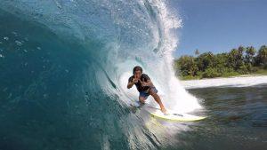 """【最新動画】3アングルが織りなす立体感!オーストラリアを拠点とする飯田航太がシメルー島で最高のパーフェクト波をスコアした模様を自身で編集を手がけた必見作""""Trainman""""がドロップ!"""