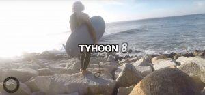 【台風8号】空撮&水中の立体的アングルで捉えた真木蔵人による台風マリアちゃんセッション