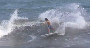 【必見動画】パワフルなレールワークを駆使したぶっ太いカービングが炸裂! オーストラリアから一時帰国中の和光大がHammo surfboardsの3モデルを湘南でテストライド
