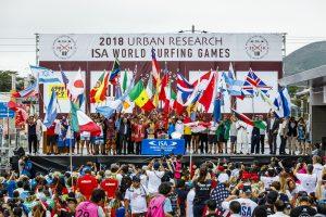 【ISA】2020年東京での五輪日本代表選手の選考対象となる2019年World Surfing Gamesが宮崎で開催決定!