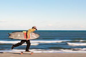 【陸上トレーニング】弱冠16歳の若手プロサーファー村田嵐による波のない日のイメトレ・サーフスケート・セッション