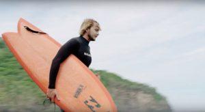 """【オルタナティブ】カリスマTyler Warrenが話題のCI surfboardsのツインフィン""""CI Fish""""をテストライド!"""