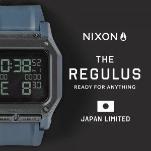"""【日本限定】NIXONよりブランド史上もっともタフなデジタルウォッチ""""THE REGULUS""""モデルのネイビーカラーが登場!"""