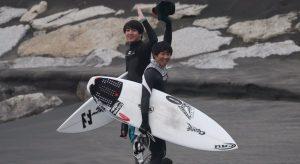 【1/31(木)】チューブもありな千葉の某ビーチでの仲村拓久未、川畑大志、小嶋海生による小雨セッション