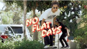 "【SURFSKATE】波がない日もコンクリートサーフ! 西谷健人と徳田凱がCarver skateboardsでカリフォルニアのストリートでスプレーをあげまくる""NO FLAT DAYS"""
