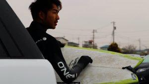 【台風2号】ウーティップ崩れの熱帯低気圧からのうねりで1日サーフィンを楽しめた3/1(金)湘南クアッドフィッシュ・セッション with 湯川正人