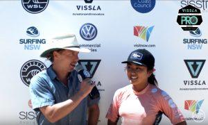 """【祝!】 WOMENSは脇田紗良が準優勝を果たしてQSランキング5位へ浮上!MENSはConnor O'Learyが優勝!オーストラリアで開催のQS3000″ Vissla & Sisstrevol Central Coast Pro""""大会最終日ハイライト"""