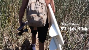 """【オルタナティブ】Tyler Warrenによる自らシェイプしたキールフィンのツインフィッシュ""""Jah Fish""""モデル・セッション"""