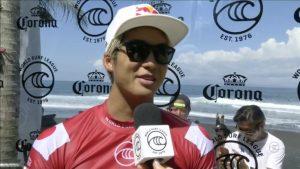 """【WSL】五十嵐カノアがエクセレントスコアとなる8.23ptを叩き出してクォーターファイナル進出!CT第3戦""""Corona Bali Protected""""のコンテストDAY8ハイライト"""