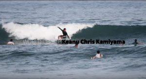 【金メダリスト】上山キアヌが西のサーフィン道場、生見海岸の日常的な小波を流石のサーフィンで料理するフリーセッション