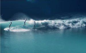 【SURF×ART】光りと影が織りなす異次元空間!? Stephanie Gilmore、Coco Ho、Leah Dawsonによるまったく新しいアーティスティックな感性溢れるネクスト・ジェネレーション・サーフクリップ