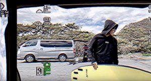 """【注目のモデル】小林直海によるZBURH surfboards""""GREED""""ツインフィン・セッティング・ファンサーフ・セッション"""