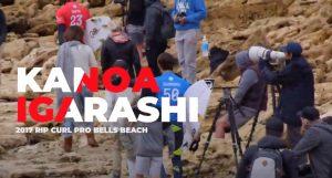 【WAVETRIP最新動画】秘蔵映像公開! 五十嵐カノアの2017年RIP CURL PRO BELLS BEACHをプレイバック!