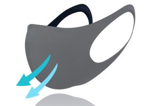 【コロナ対策】手洗いできて繰り返し使用可能! DOVE wetsuitsより軽量かつ通気性のある2.5mmポリウレタン素材を採用したフェイスガード2がリリース!!