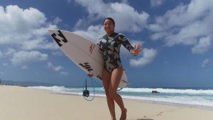 【HAWAII】ワールドレベルの2人が織りなす迫りくる臨場感! 2ヶ月間に渡ってハワイに滞在した松田詩野をドローンのスペシャリストBALI SATOSHIが空撮!!