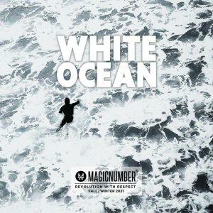 """【注目の】""""WHITE OCEAN""""をテーマにMAGIC NUMBERがFALL / WINTER 2021コレクションでスノーボーダー工藤洸平のNOMADIKとの初コラボを実現!!"""