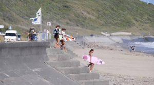 【注目の次世代ガールズサーファー】都築虹帆、池田未来といった10代の若手プロ2名に、トップアマ佐藤季と森舞果によるサマーセッション2021